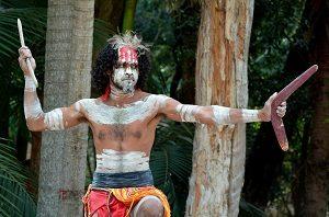 An Aboriginese man