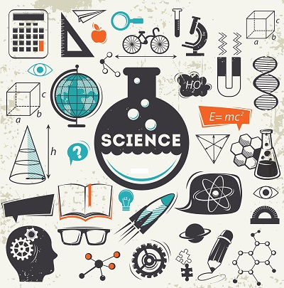 Drawings related to science