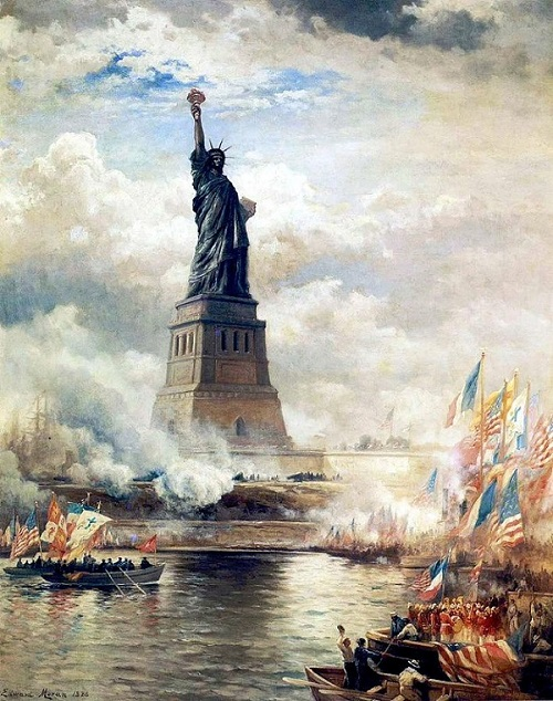 Painting of Statue of Liberty